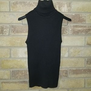 Black Express Tank Top Sweater